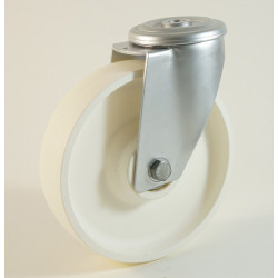 Roulettte à trou central, roue en polyamide, serie P/M22 CU 120 à 300 Kg