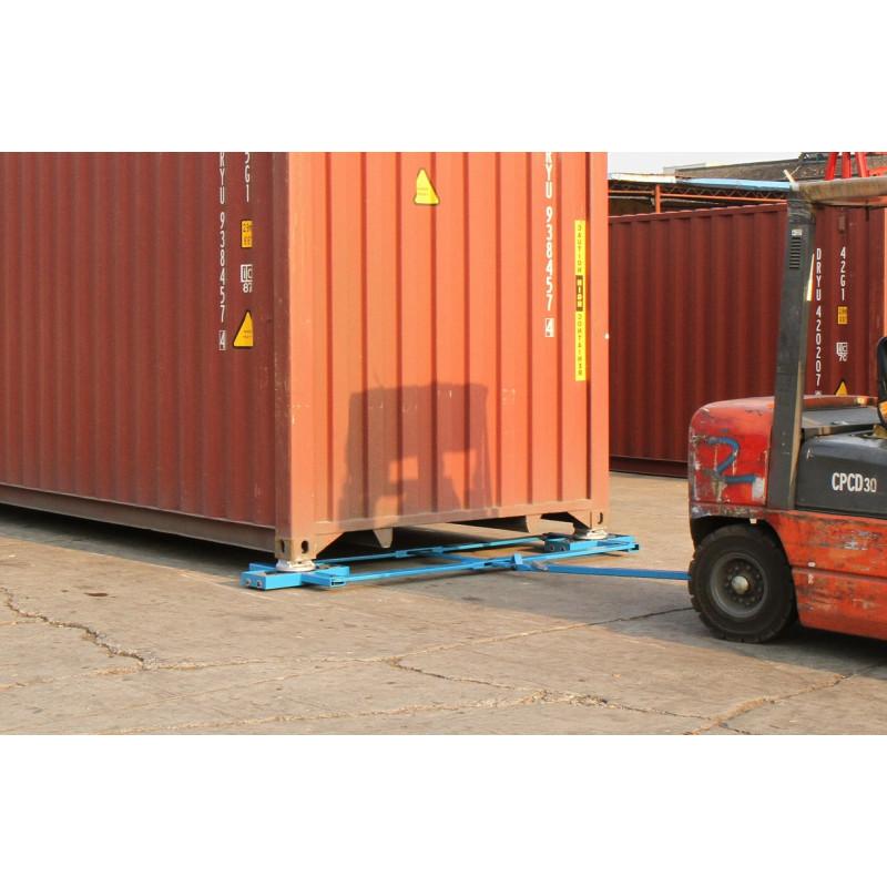 kit de roulage pour container maritime cu 32 tonnes jac manutention. Black Bedroom Furniture Sets. Home Design Ideas
