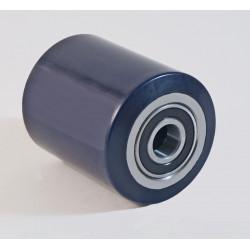 Galets de transpalette polyuréthane souple charges 400 à 950 Kg