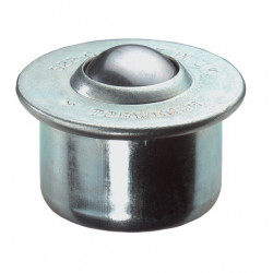Billes de manutention à socle cylindrique épaulé type 60