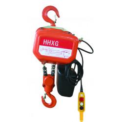 Palan électrique à chaîne, charges 1000 Kg, série HH